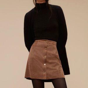 Aritzia Wilfred Free Centinela Mini Skirt NWT 10